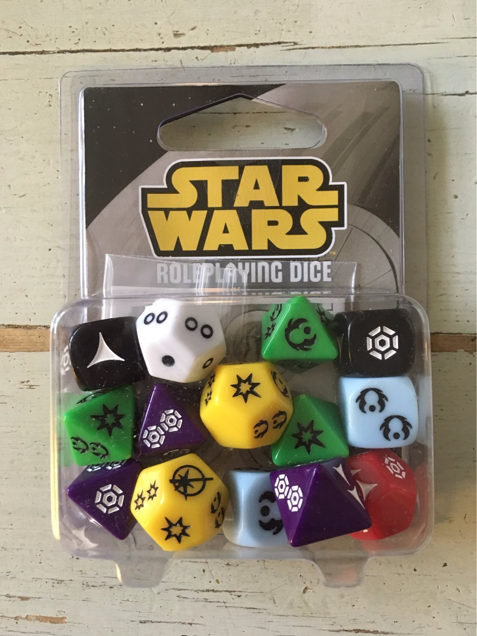 Star Wars Roleplaying Game Dice!