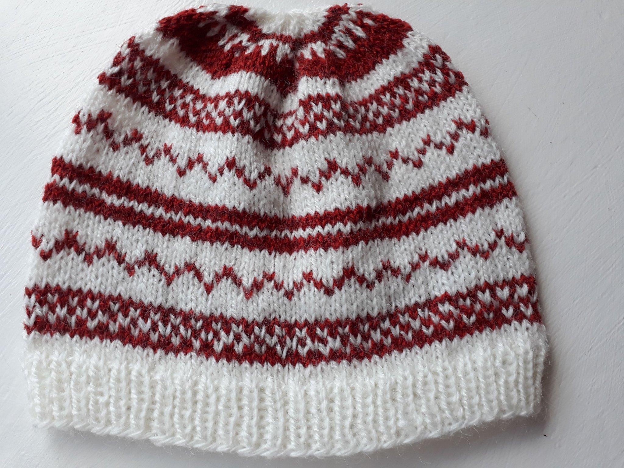 spetsar in uttag online prestanda sportkläder Hemstickad mössa ny (366999812) ᐈ Köp på Tradera