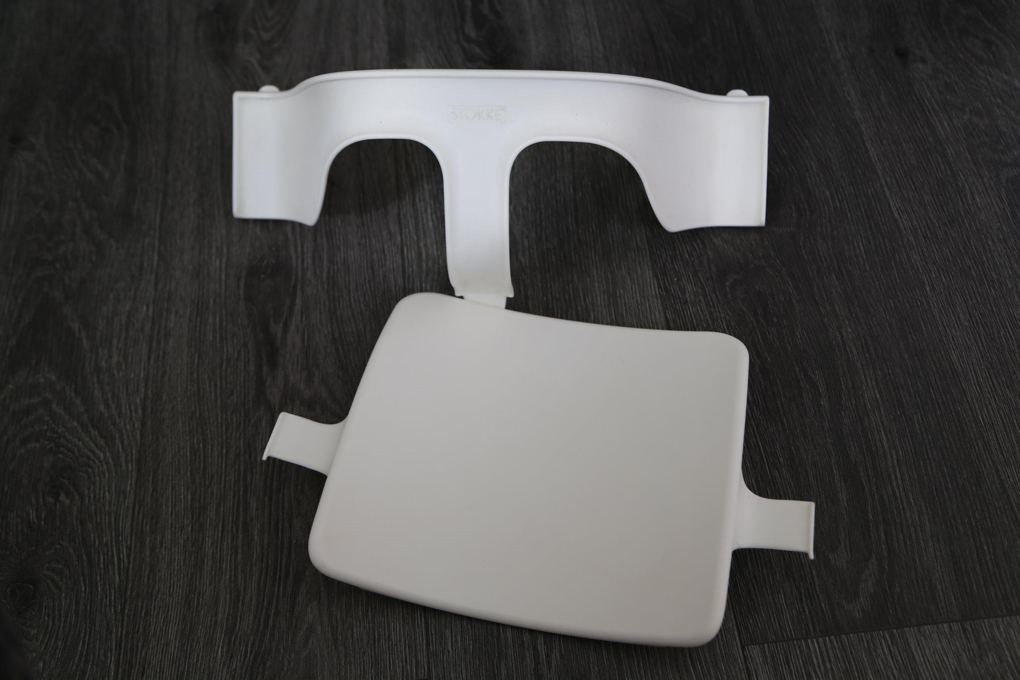 baby set till stokke tripp trapp stol, vit .. (309907020) ᐈ köp på
