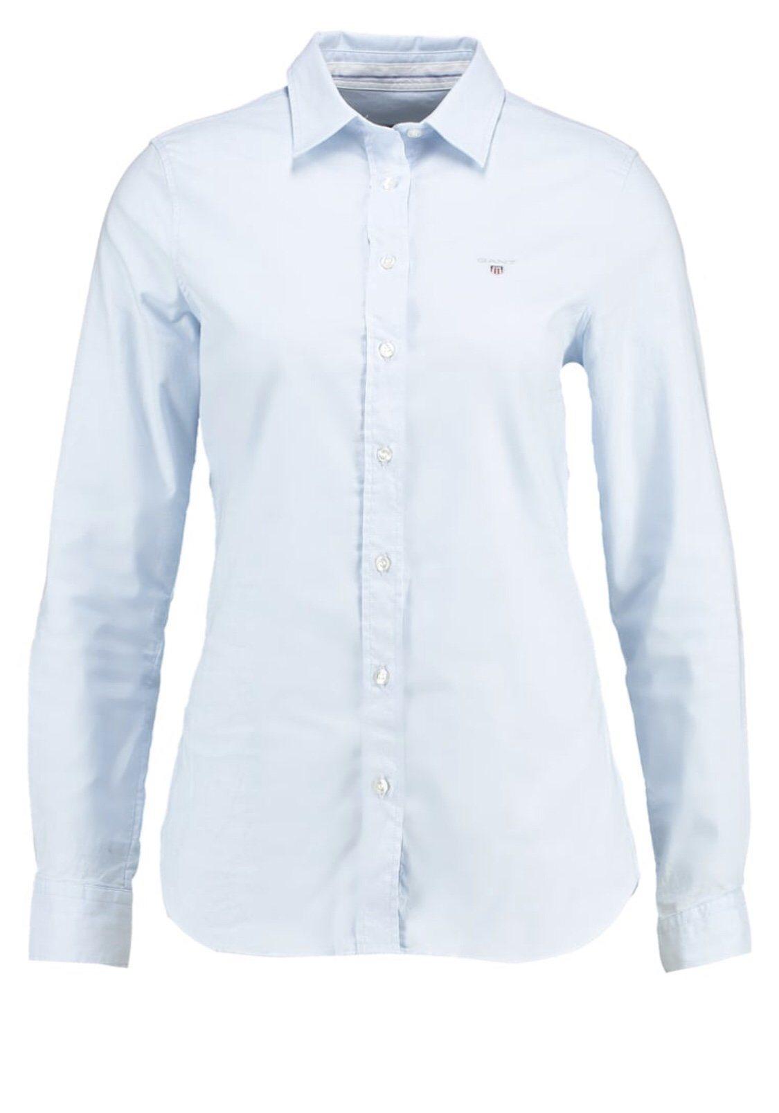 Gant skjorta ljusblå trend dam (341022959) ᐈ Köp på Tradera 5eed089dce921