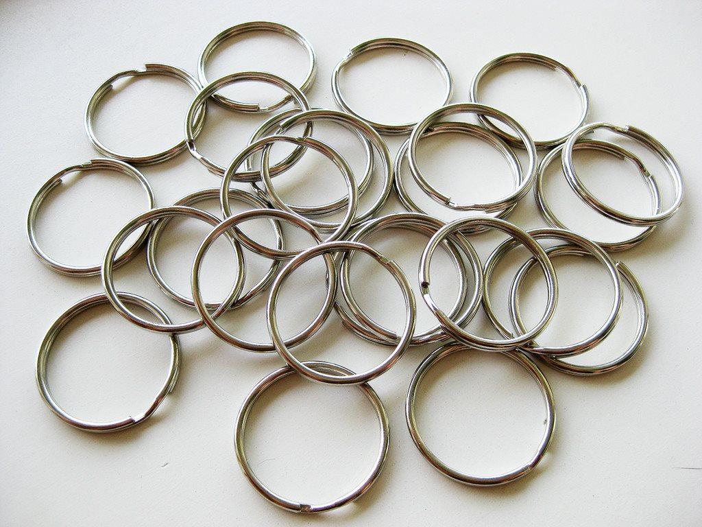 25 st nyckelringar 25 mm (285730246) ᐈ FlisansLoft på Tradera 72fb0eddf8ba1