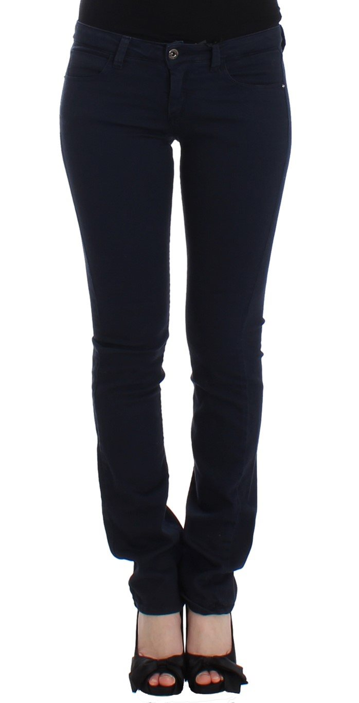 Costume National - Blue straight leg jeans
