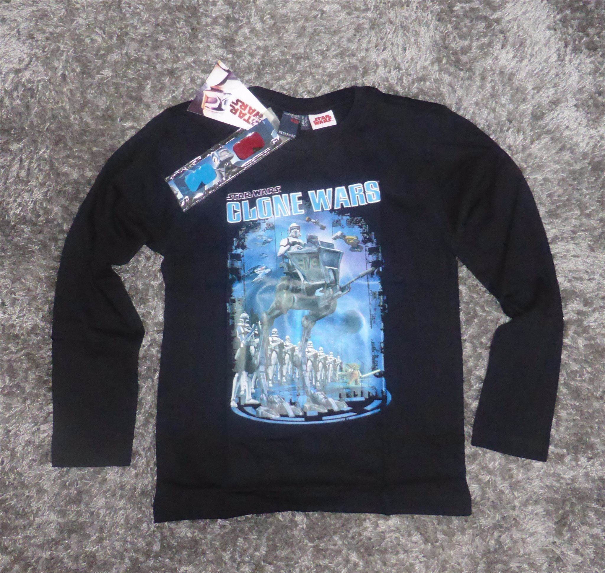 star wars stickad tröja