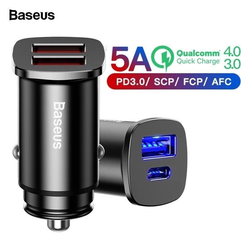 Baseus QC4.0 QC3.0 Type C PD 12V laddare (361707986) ???Köp