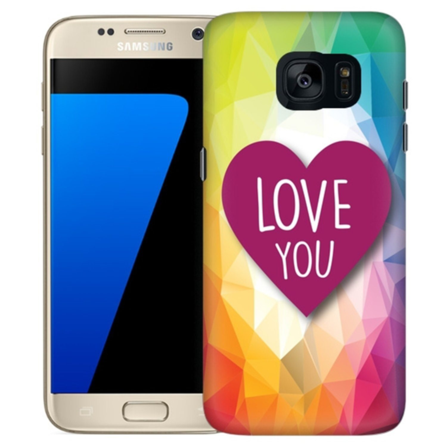 Samsung Galaxy S7 Edge Skal Love You.. (309737370) ᐈ Hobbyprylar på ... 5391cad42e1e1