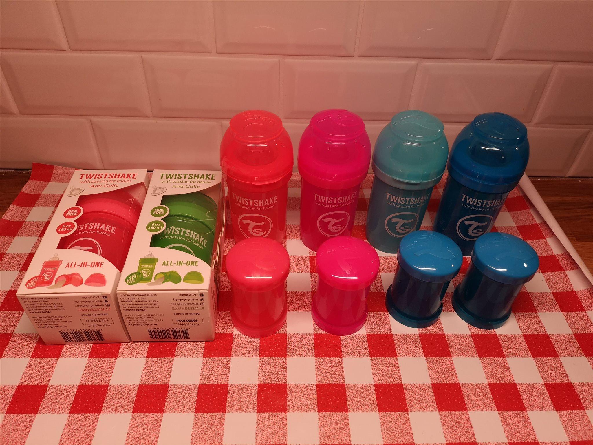 Twistshake flaskor