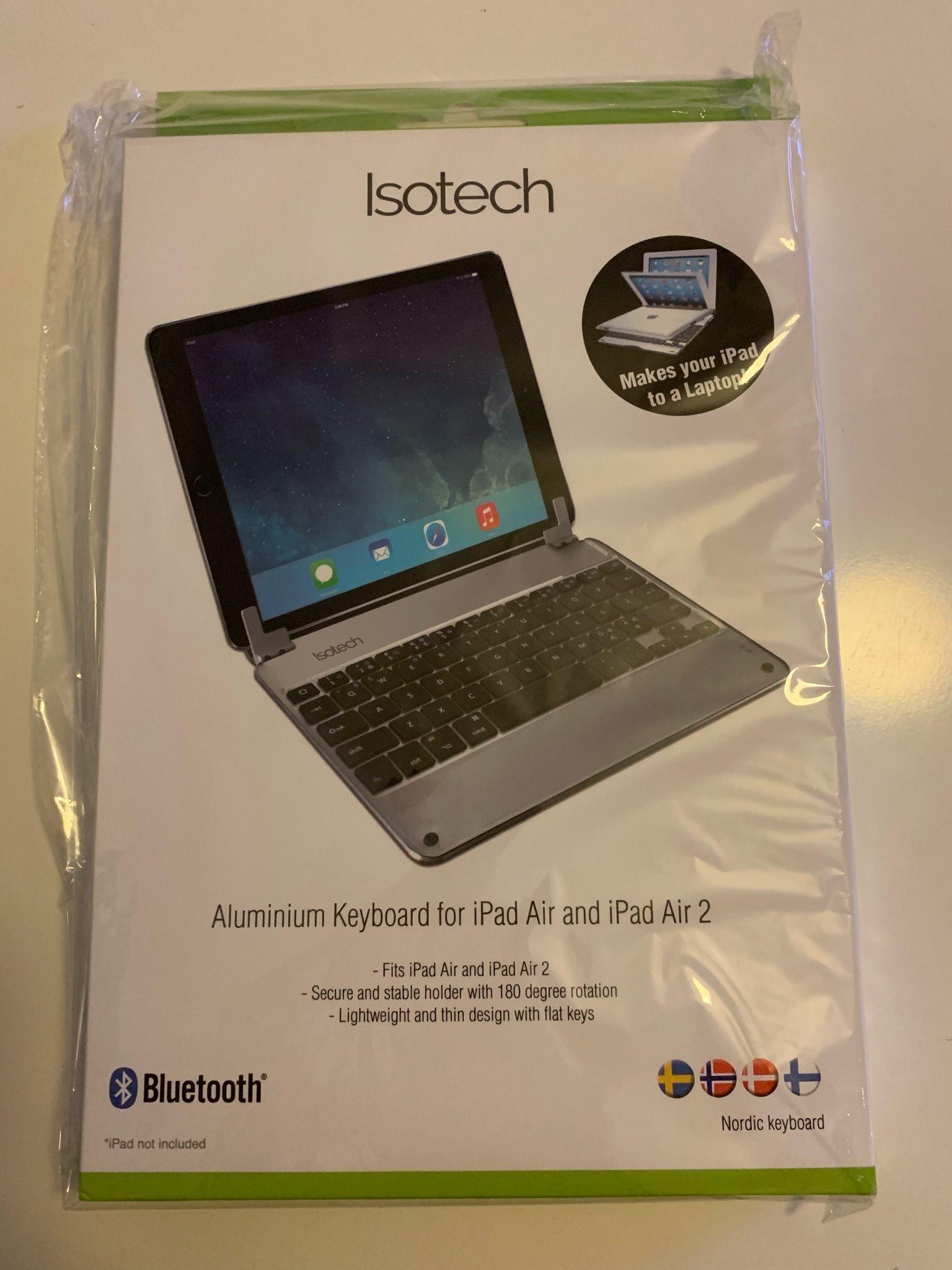 Isotech alu keyboard till IPad Air + Air 2 86b8879577285