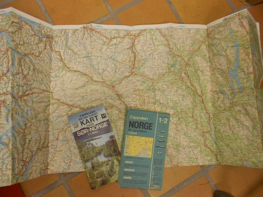 Karta Syd Norge.Retro 3st Gamla Norge Karta Bil Och Turistkart 339393759 ᐈ Kop