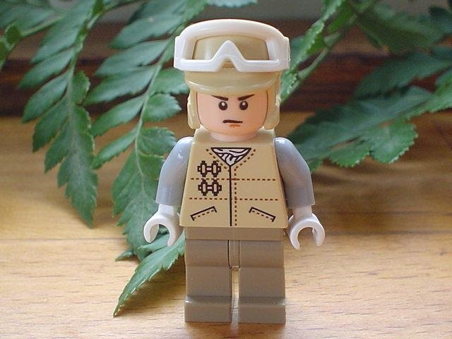 Hoth Rebel Trooper - Star Wars Lego Figur