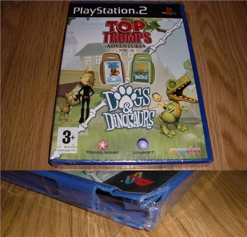 PS2: Top Trumps Adventures vol 2: Dogs & Dinosaurs (ny) ★