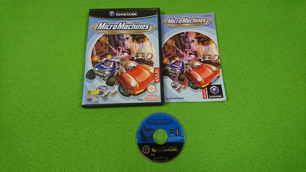 Micro Machines  KOMPLETT Gamecube Nintendo Game Cube