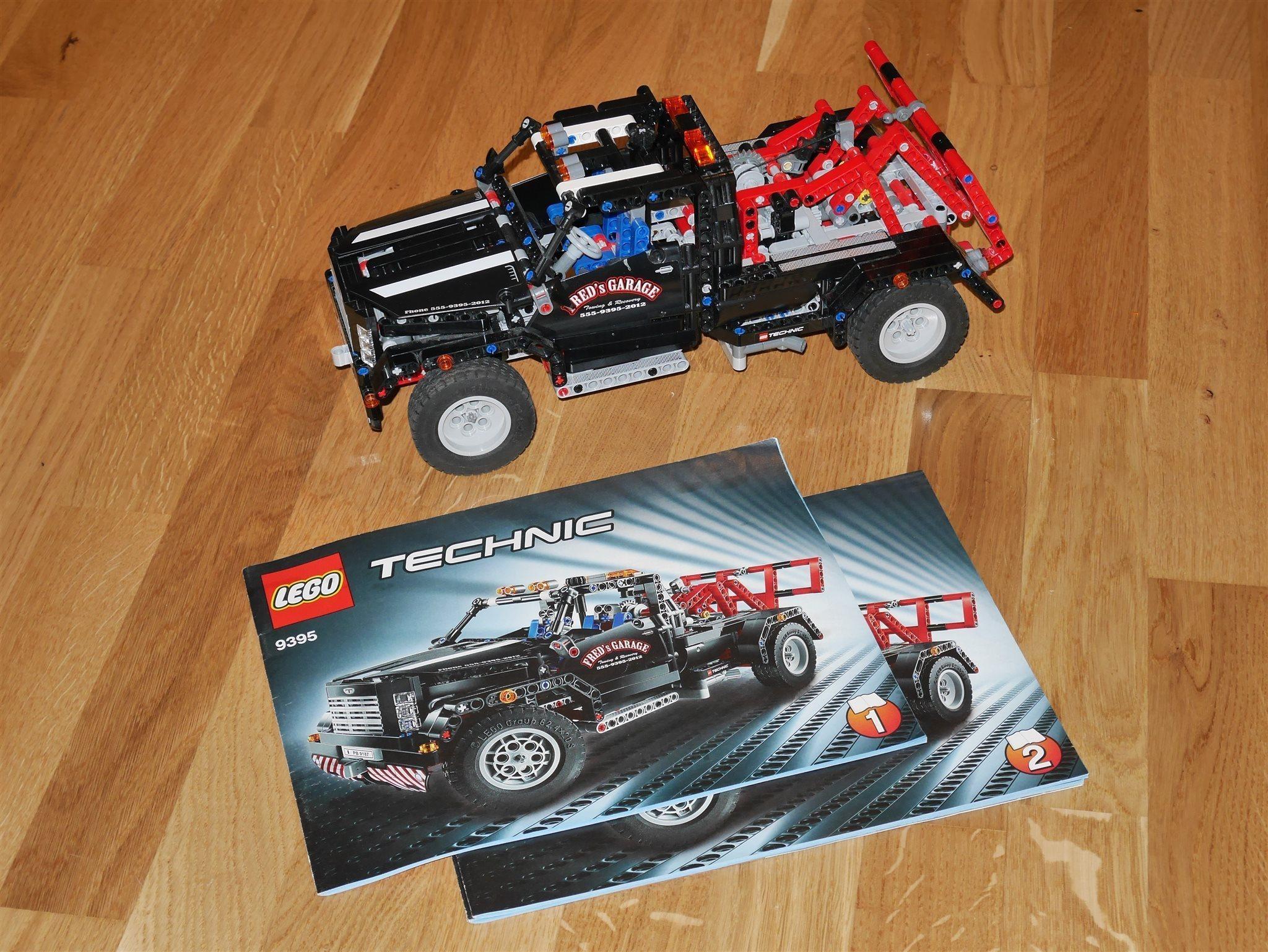 LEGO Technic 9395 Garagebärgare