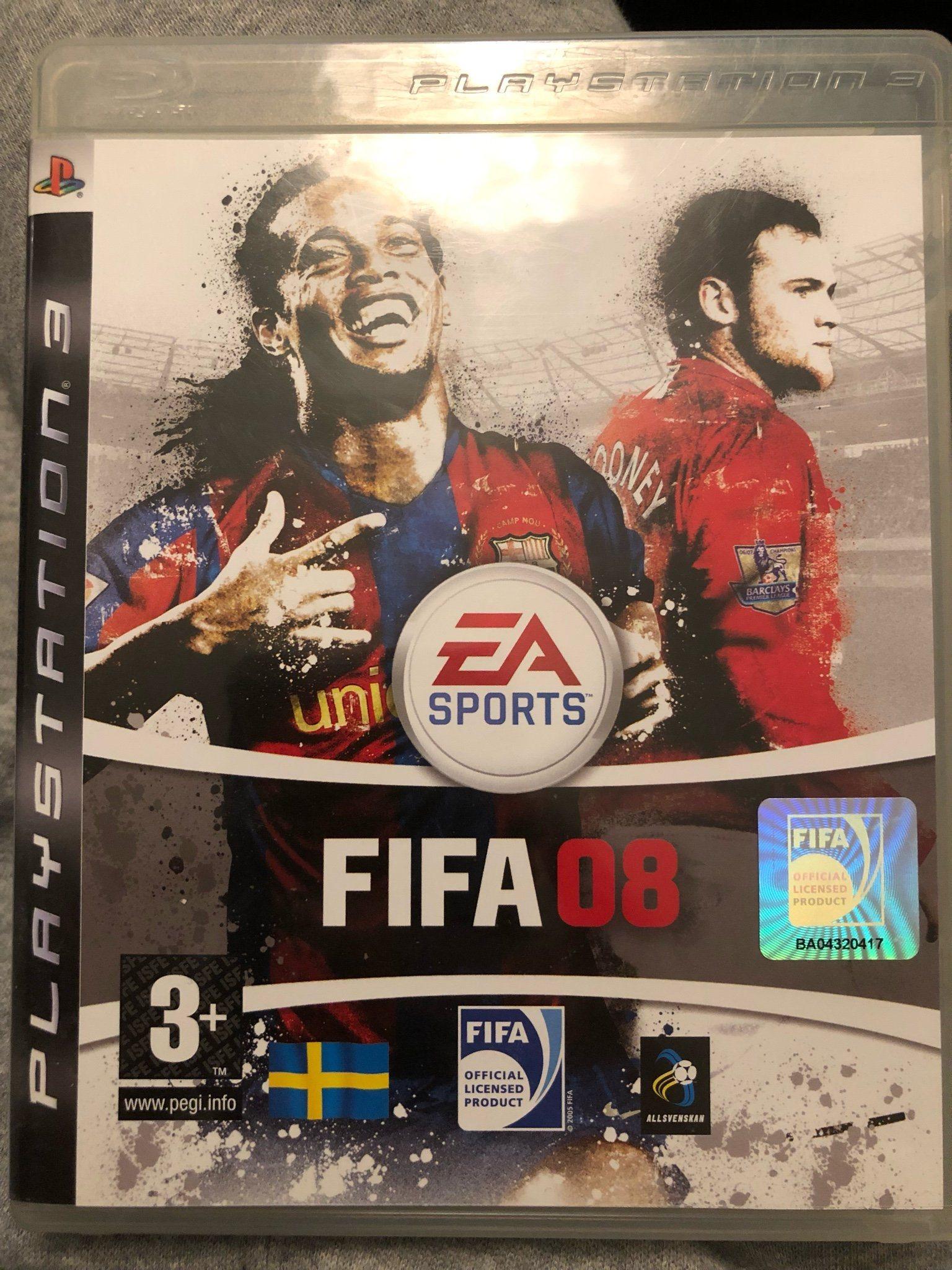 FIFA 08 (PS3 spel) (343063944) ᐈ Köp på Tradera