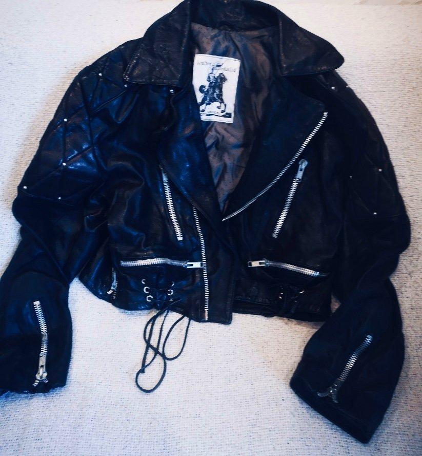 Skinnjacka Vintage från Leather Tecnics (391448164) ᐈ Köp