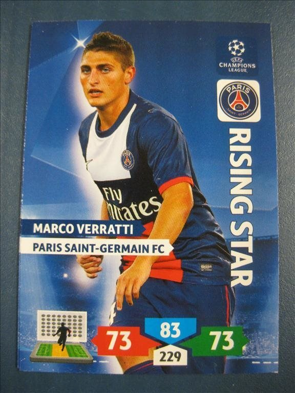 RISING STAR : MARCO VERRATTI -  PARIS SG - CHAMPIONS LEAGUE 2013-2014