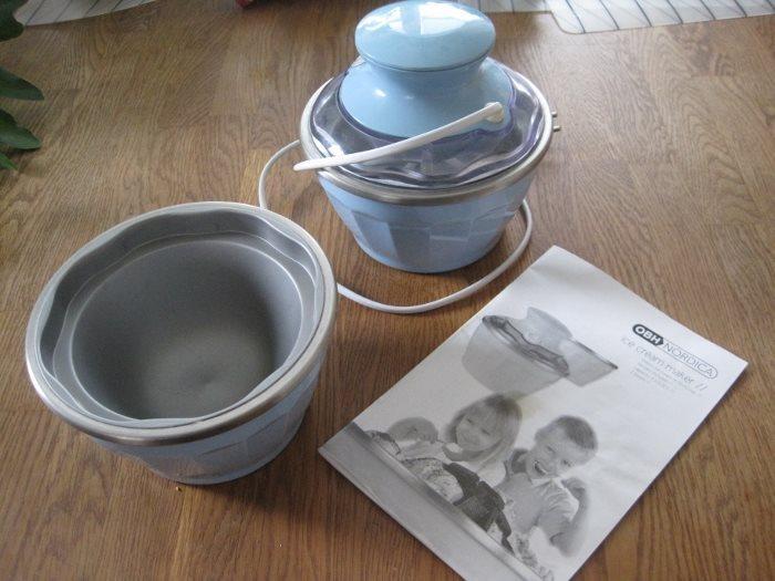 nordica glassmaskin recept