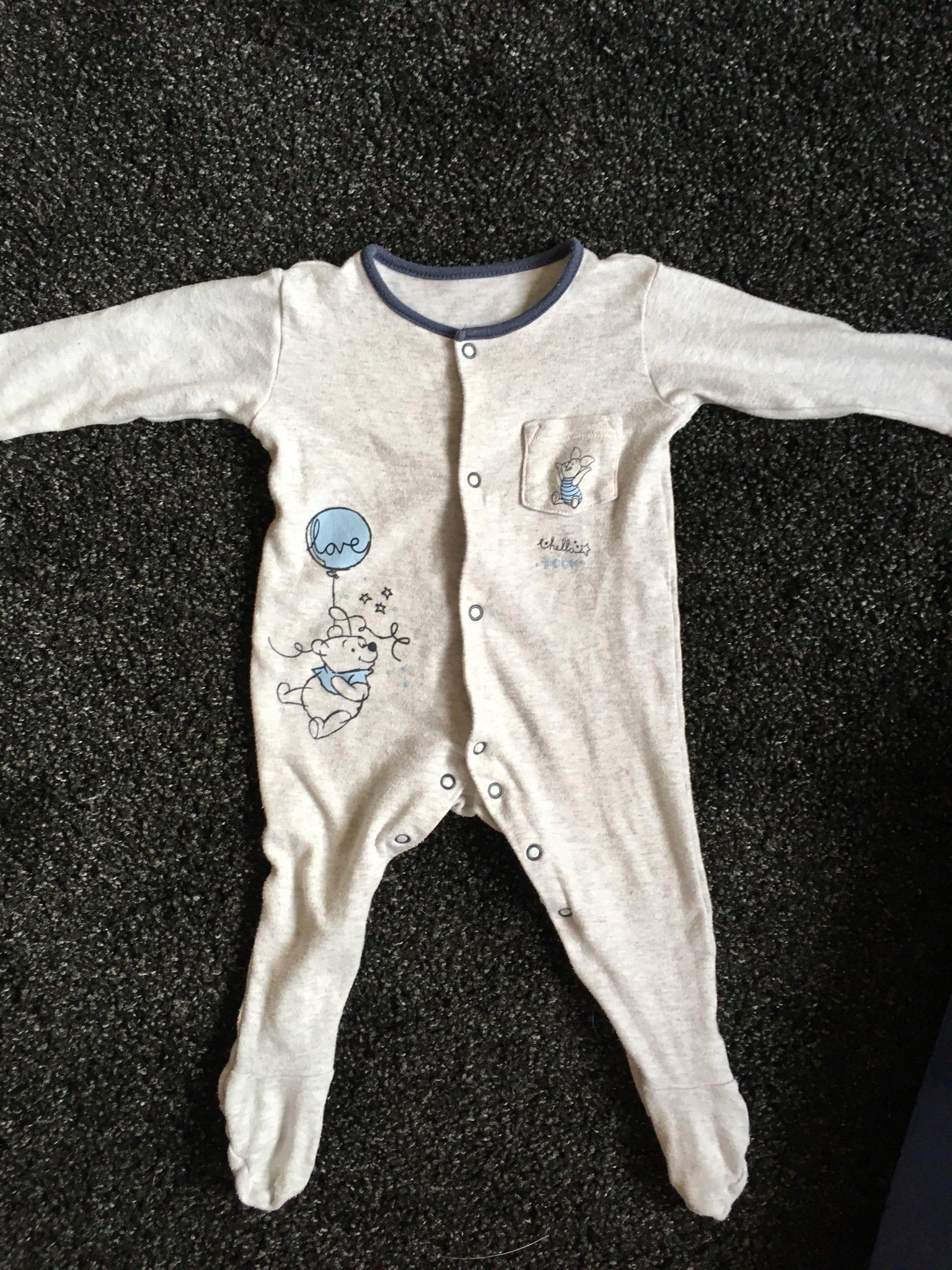 fri leverans otroliga priser specialavsnitt Pyjamas med fot (Disney baby) (372157865) ᐈ Köp på Tradera