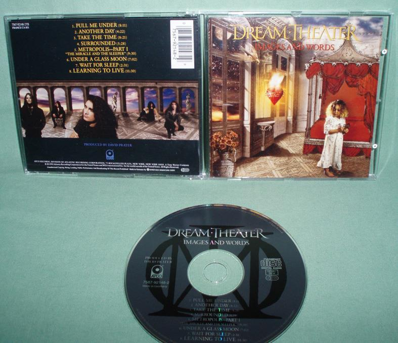 DREAM THEATER - Images and words , CD , ,