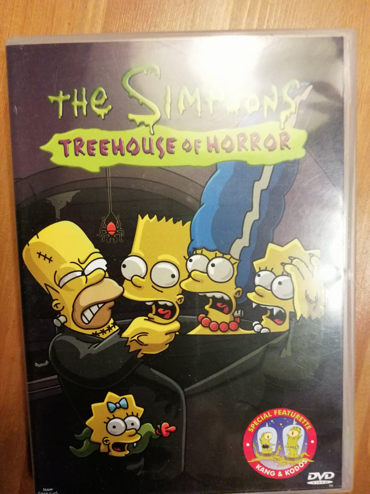 The Simpsons Treehouse of Horror DVD (352825042) ᐈ Köp på Tradera