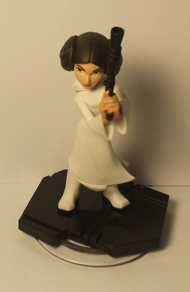 Disney infinity 3.0 Starwars star wars princess Leia