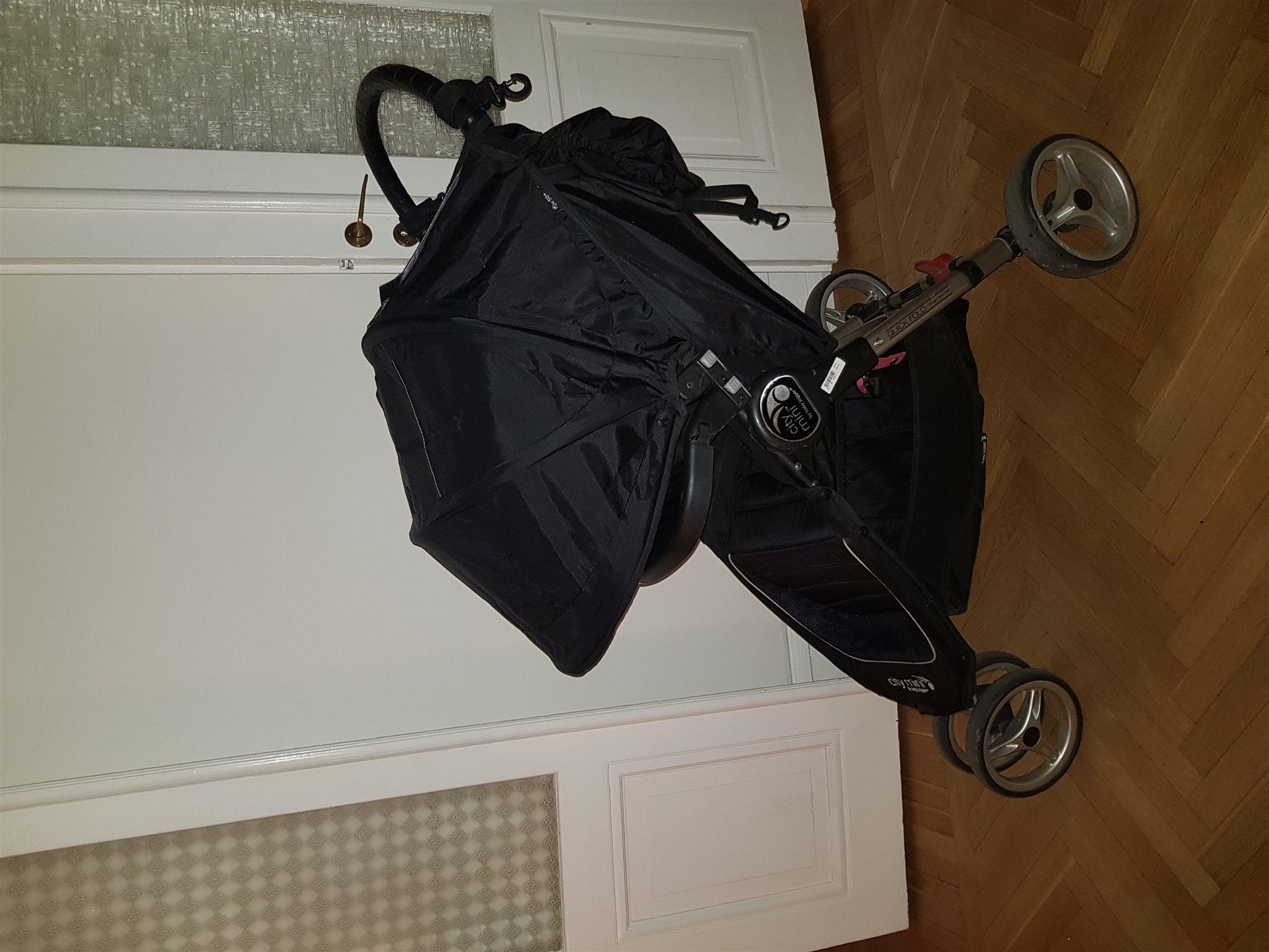 Baby Jogger City Mini Mini Mini med bygel 804f9a