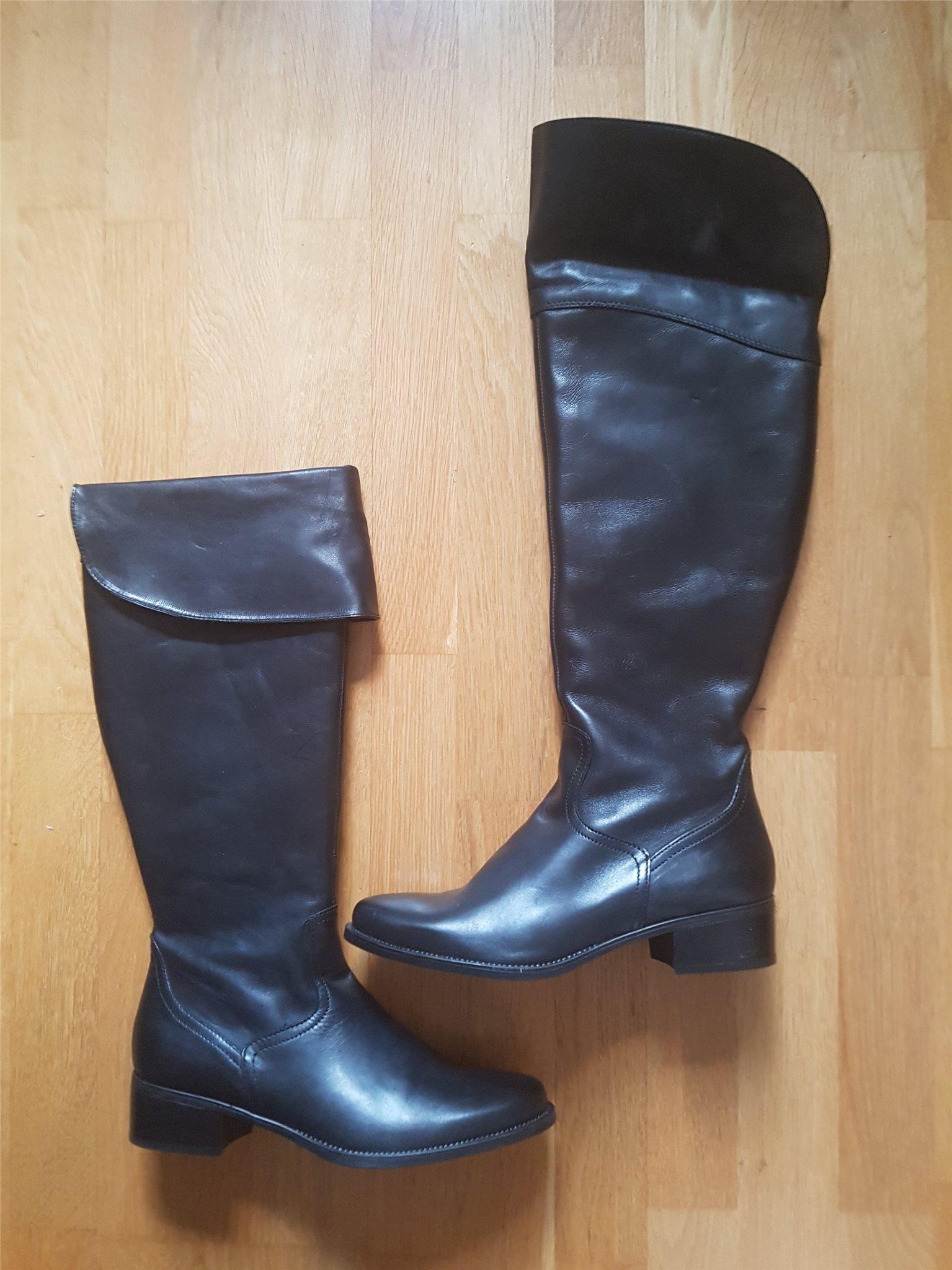 c74552544f5 Svarta läderstövlar storlek 40 från Tamaris, he.. (340769857) ᐈ Köp ...