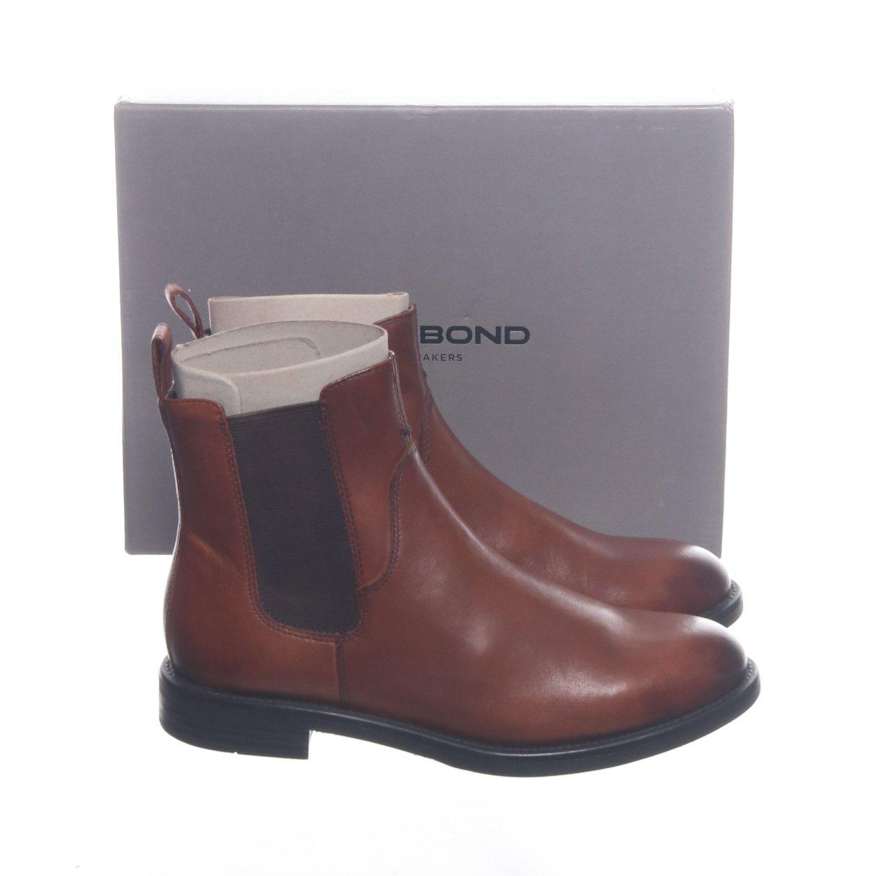 Vagabond, Boots, Strl: 37, Amina, Brun, Skinn