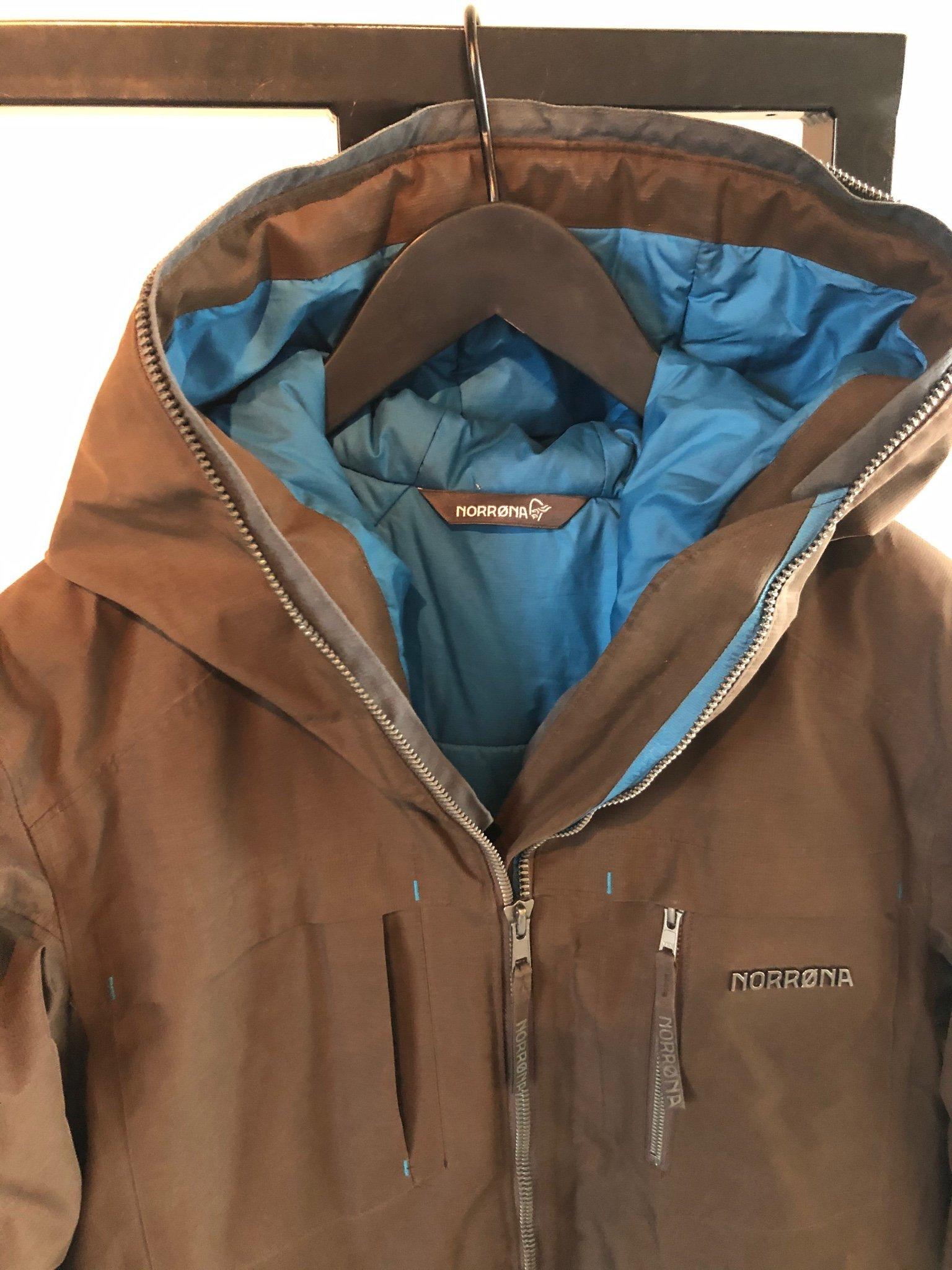 Norröna vinterjacka som NY (378187693) ᐈ Köp på Tradera