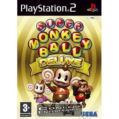 SUPER MONKEY BALL DELUXE (komplett) till Sony Playstation 2, PS2
