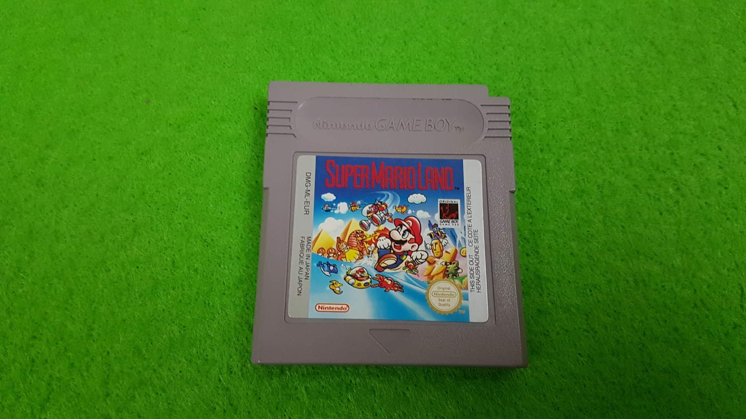 Super Mario Land Kassett gameboy gb