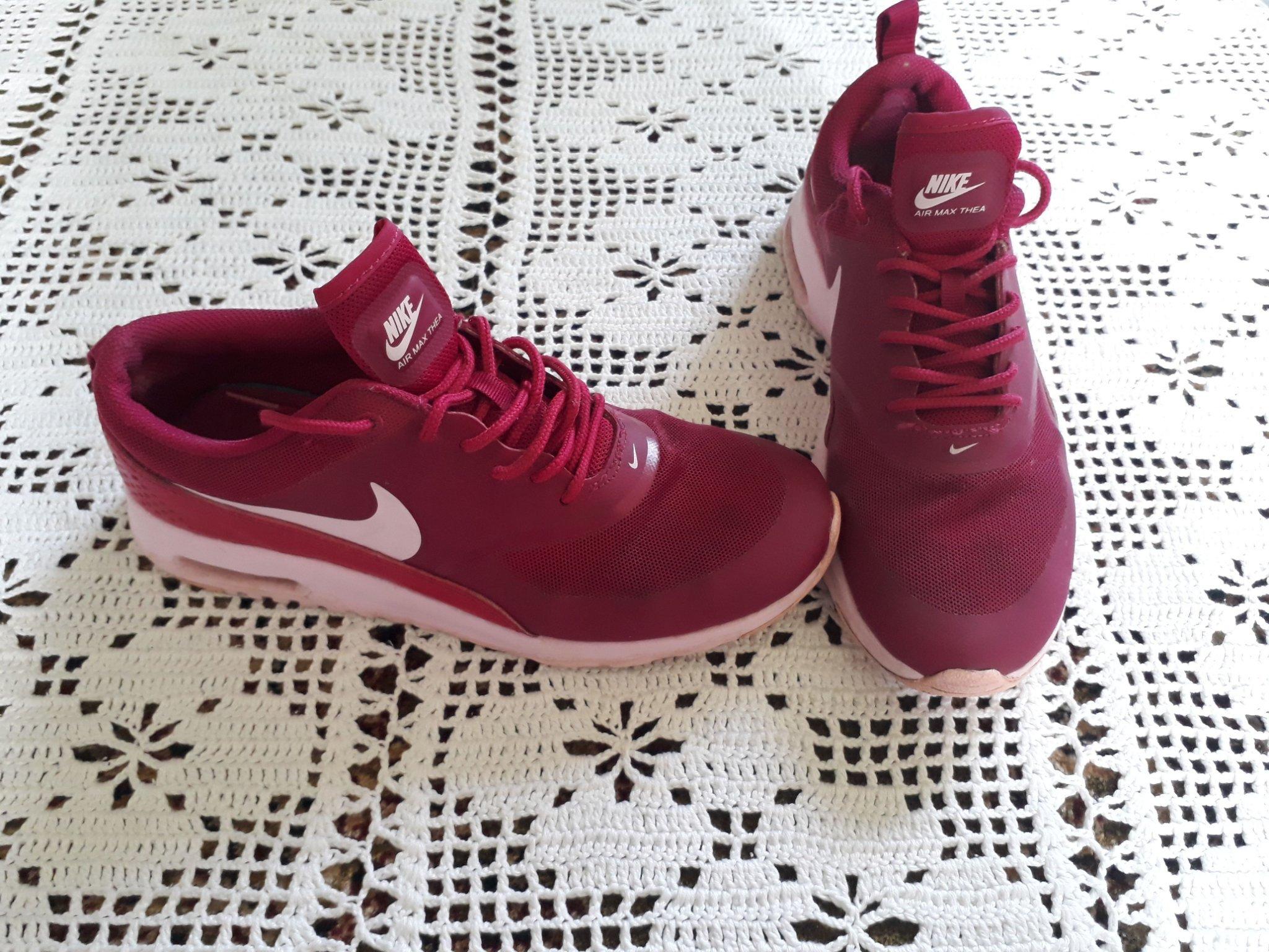 Fina! Nike air max thea skor stl:39 (25cm) rosa (357732221