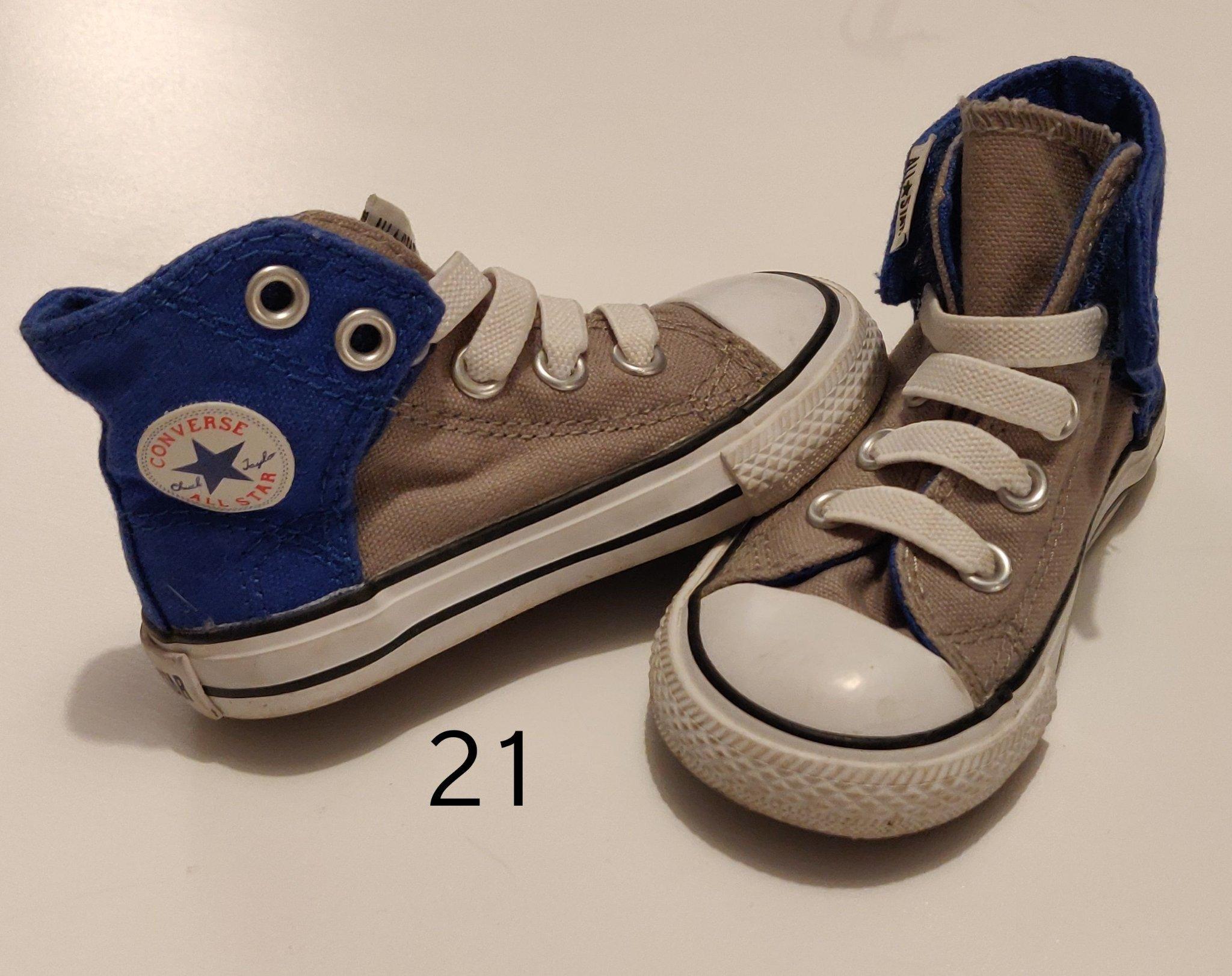Converse barnskor storlek 21 (372465504) ᐈ Köp på Tradera
