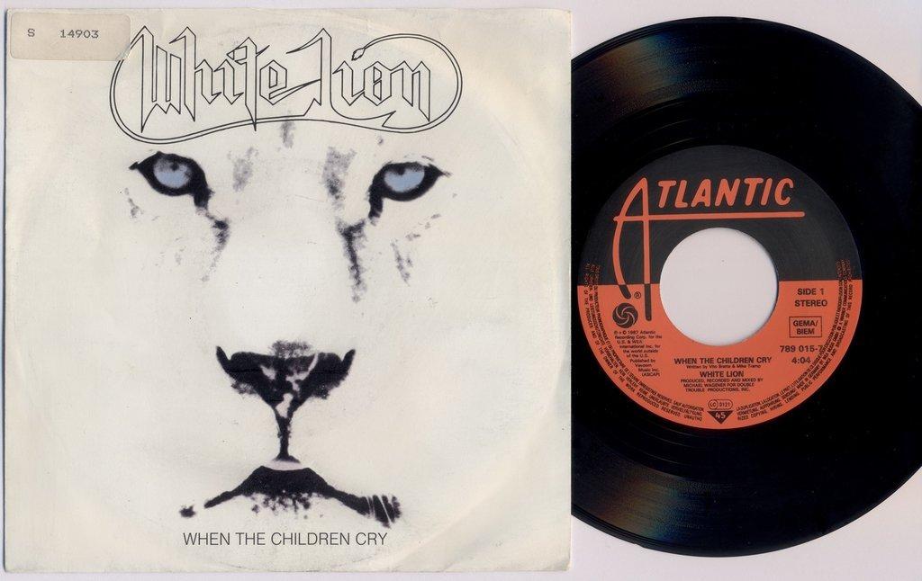 WHITE LION 'When The Children Cry' German 7