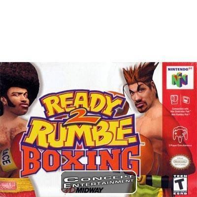 READY 2 RUMBLE BOXING /TO till Nintendo 64, N64