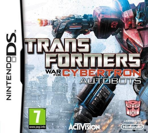 Transformers War for Cybertron Autobots - Helt nytt till Nintendo DS!!!