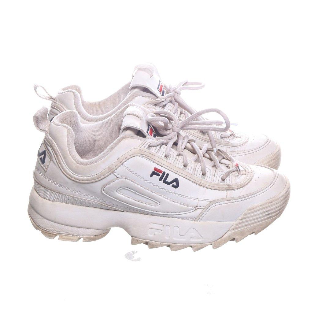 Fila, Sneakers, Strl: 37, Disruptor Low Wmm, Vit