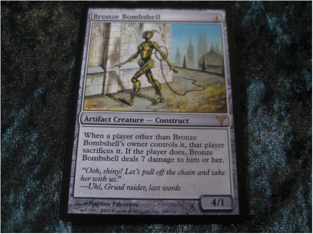 BRONZE BOMBSHELL RARE (ARTIFACT DISSENSION) 4/1 *