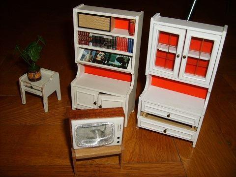 Vardagsrum Retro : Retro inredning vardagsrum lundby dockskåp dockhus tal på