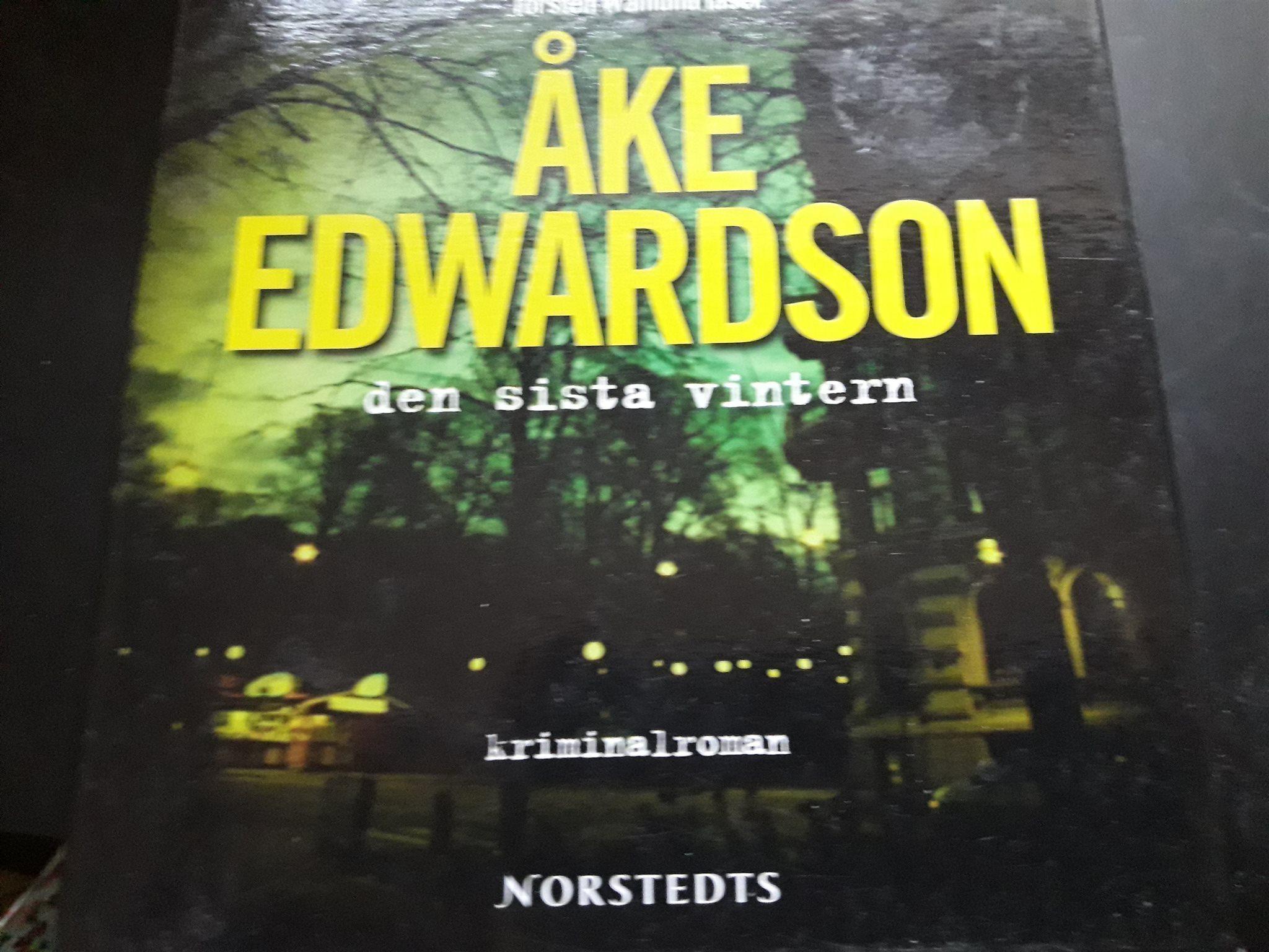 911baa5d477 Ljudböcker..ÅKE EDWARDSON.. Den Sista Vintern (342773430) ᐈ Köp på ...