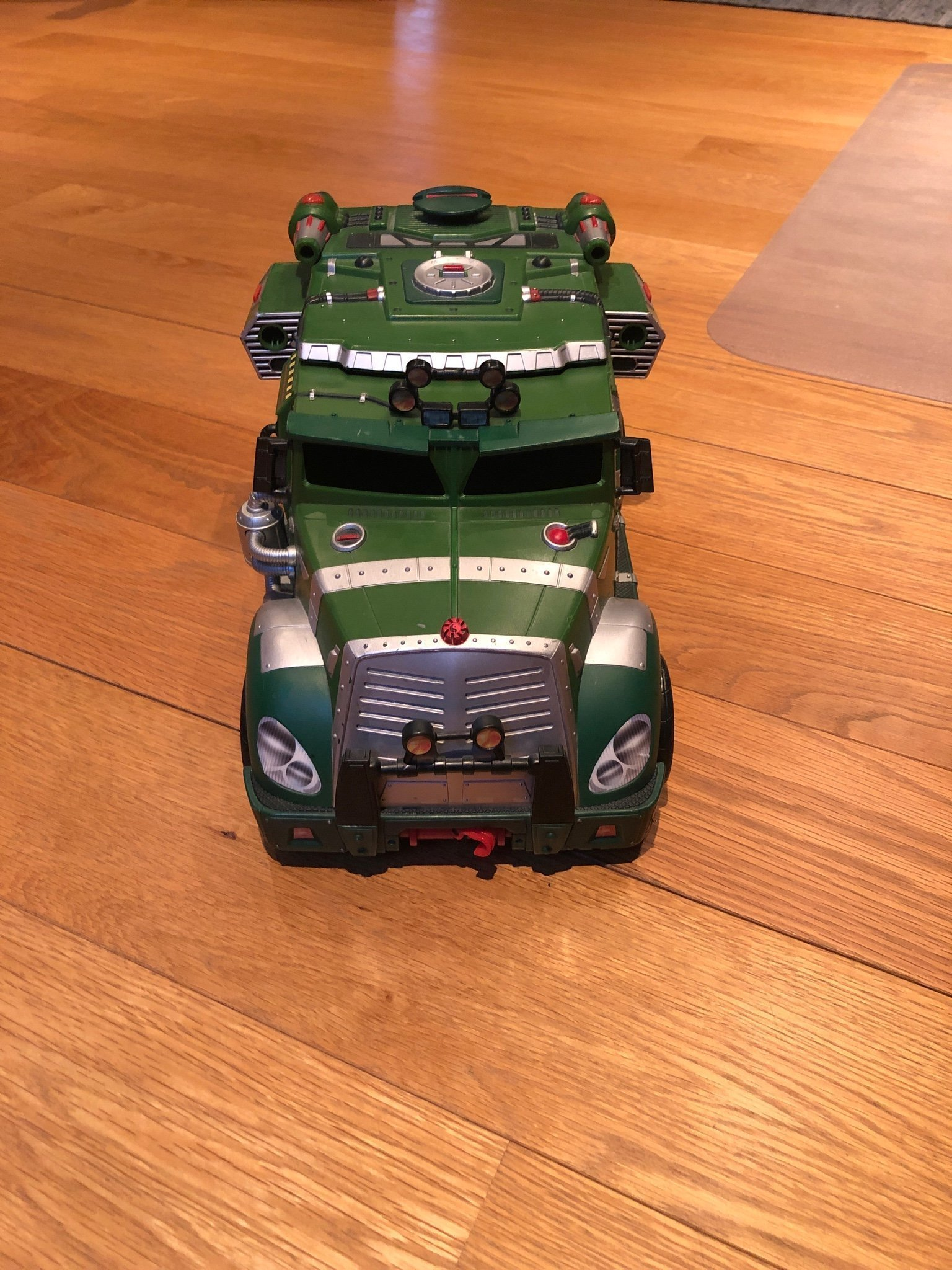 Teenage mutant ninja turtles tactical sewer vehicle 2002 mirage studios