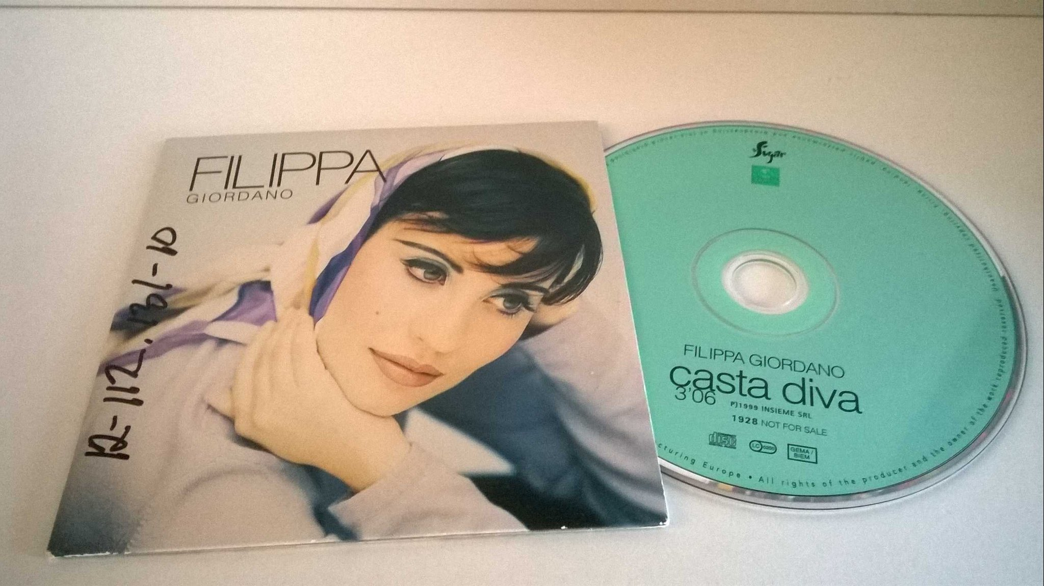 Filippa Giordano - Casta Diva, single CD