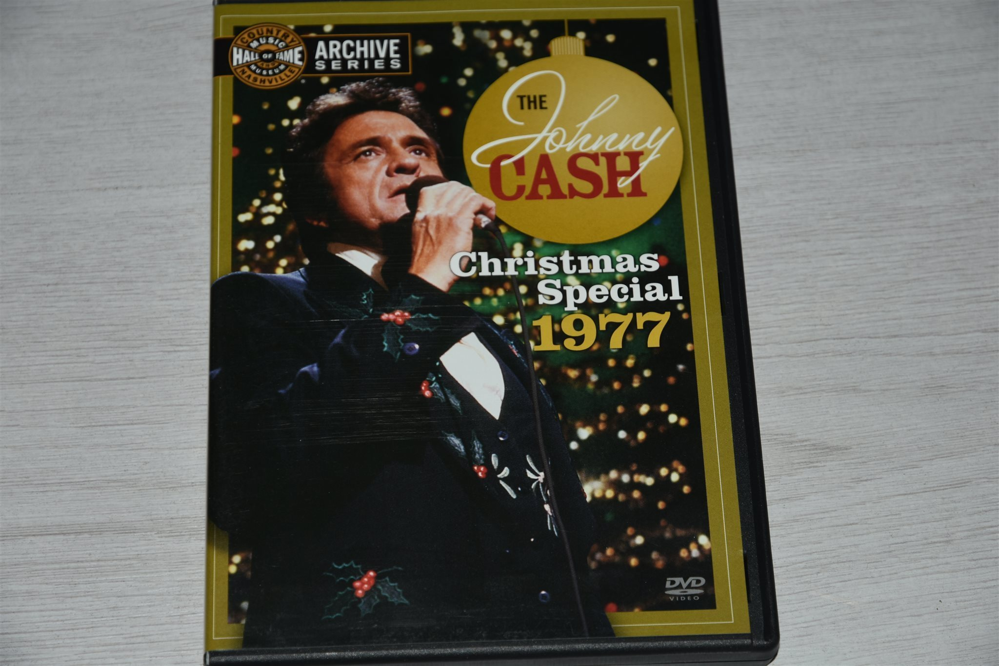Johnny Cash - Christmas Special 1977 på Tradera.com - Rock på DVD |