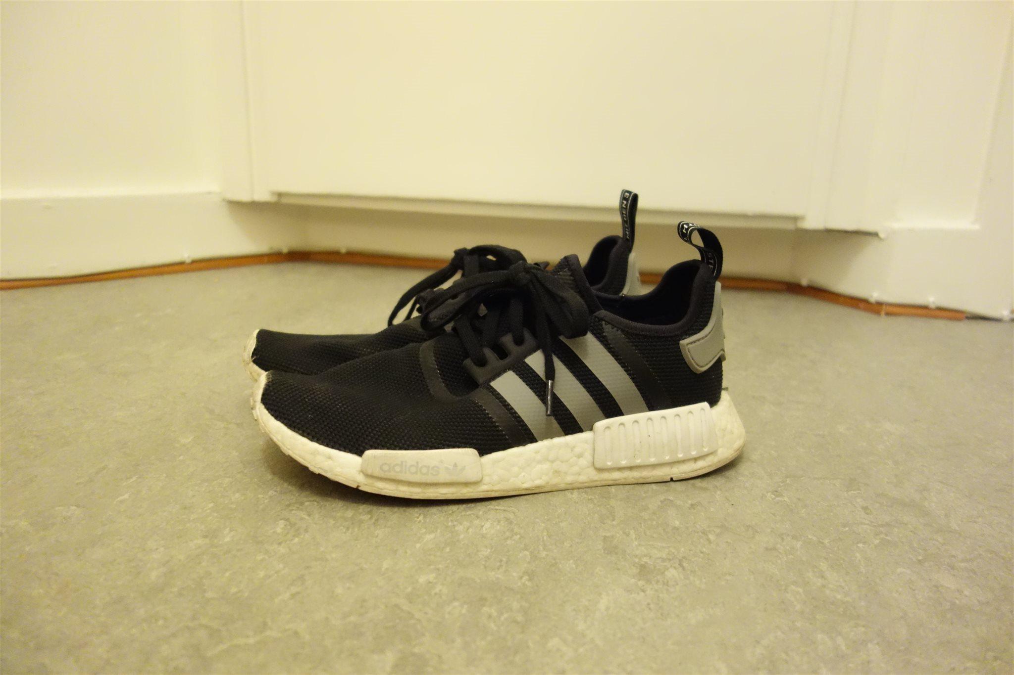 sports shoes e6d61 692bb adidas nmd skor svart strl 42 2 3