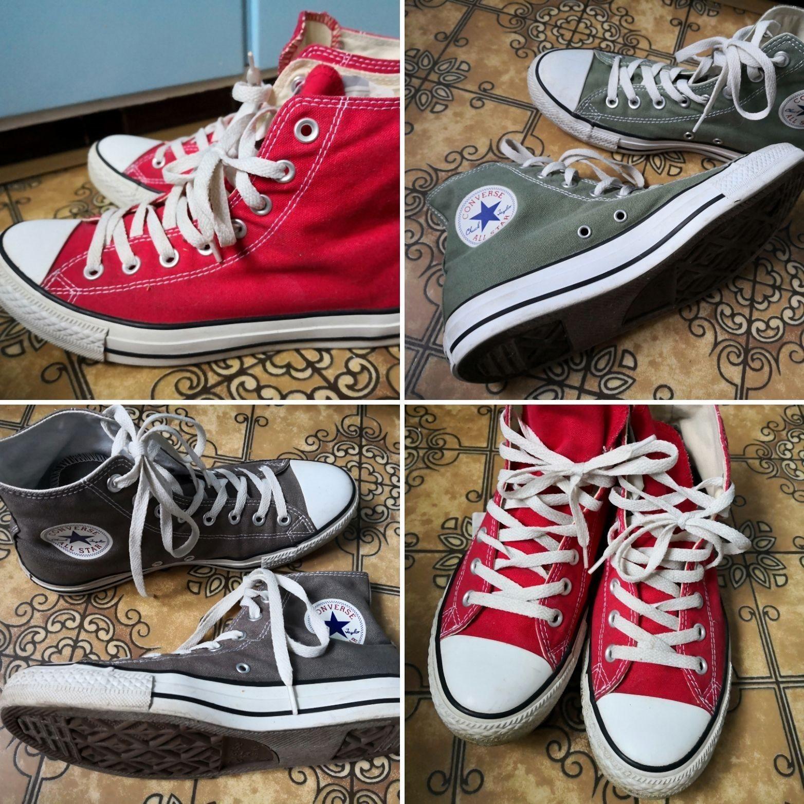 826e94bed1e Tre par supersnygga Converse i mycket fint skic.. (341762165) ᐈ Köp ...