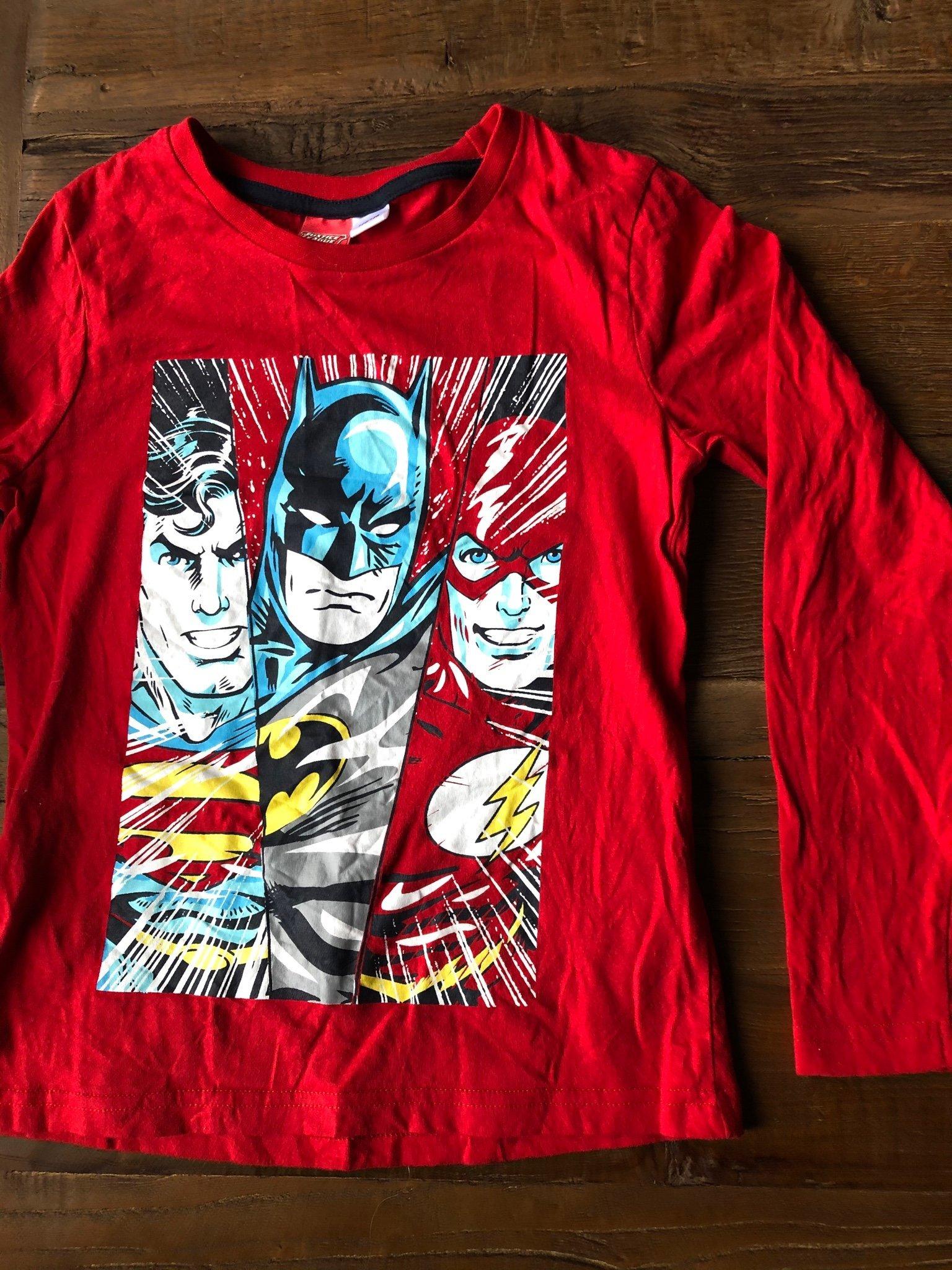 Långärmad T shirt strl. 122128 Lindex