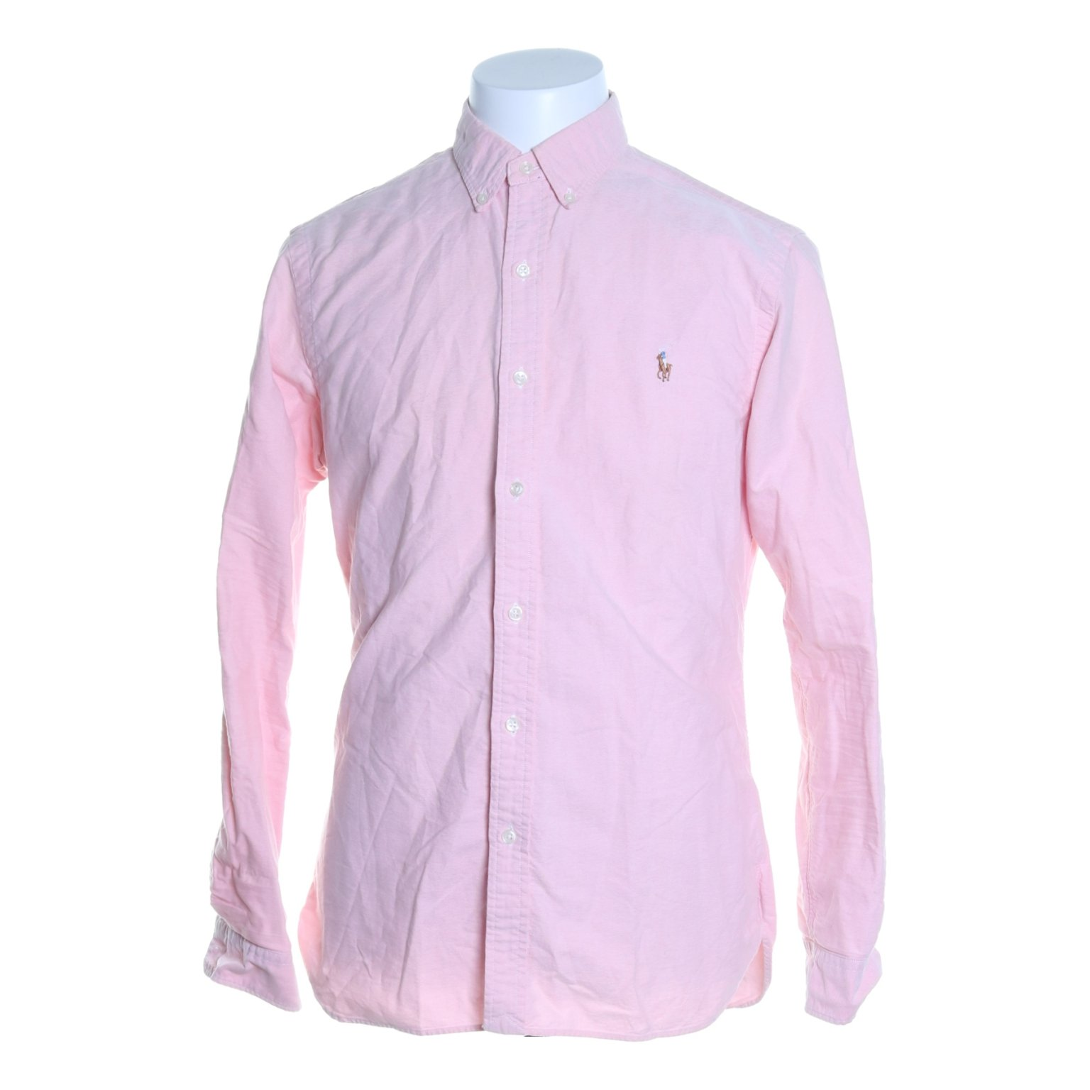 Polo Ralph Lauren, Buttondown-skjorta, Strl: M, Slim Fit , Rosa
