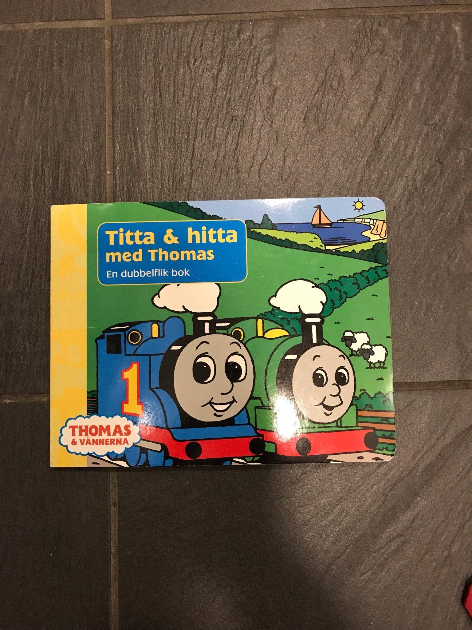 Titta   Hitta med Thomas (Thomas tåget) (340876401) ᐈ Köp på Tradera 809419e7a399b