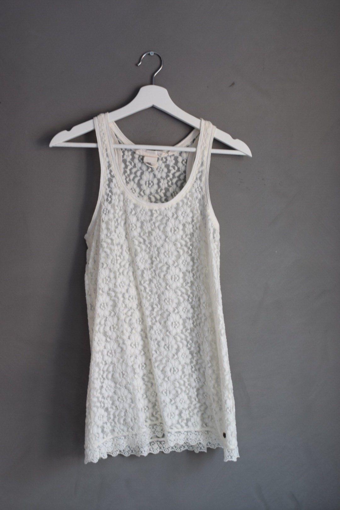 Vit kort klänning spets storlek XS (341274792) ᐈ Köp på Tradera 52501e1d9e054