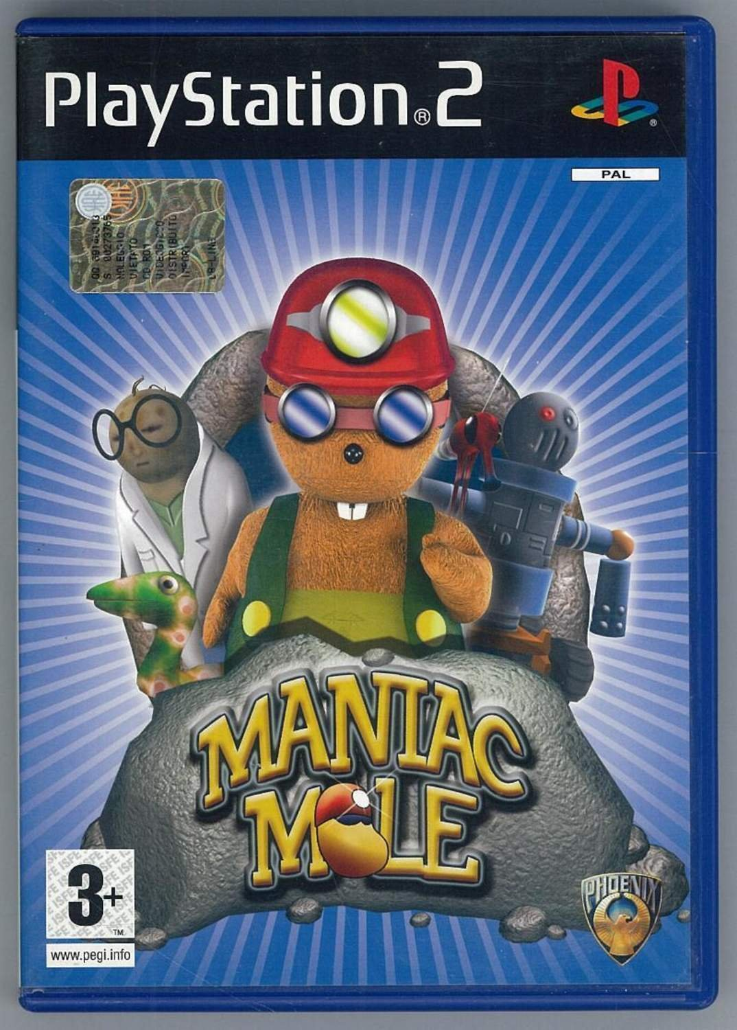 Maniac Mole - Playstation 2