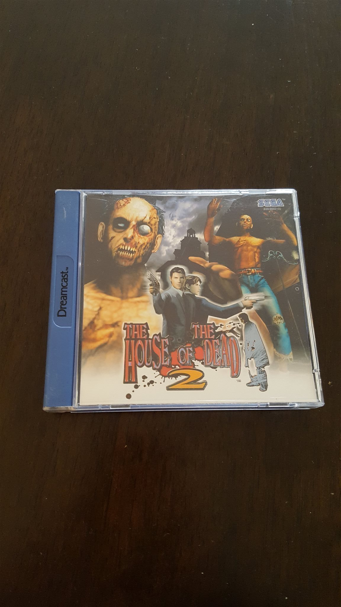 The house of the dead 2 till Sega Dreamcast.
